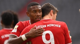 David Alaba is sought after all around Europe. EFE