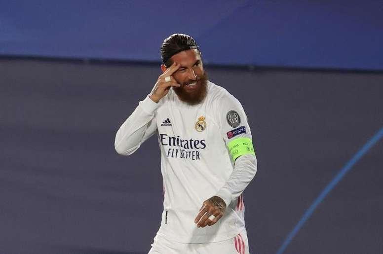 La prioridad de Ramos es sacar al Madrid de la crisis. EFE