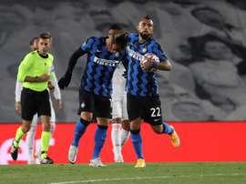 Las posibles alineaciones del Inter de Milán-Real Madrid. EFE