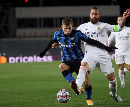 Brozovic was a last minute absentee for Inter Milan. EFE