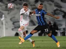 Inter Milan v Real Madrid live. EFE