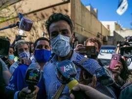 O médico de Maradona se defende. EFE