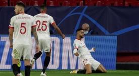 El Sevilla puede dejar atado el pase a octavos. EFE