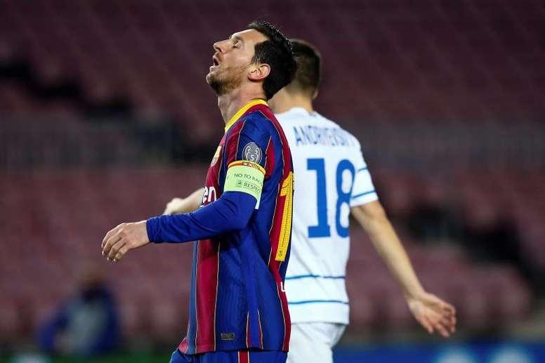 El Barça acaricia los octavos; el PSG, sin margen de error. EFE