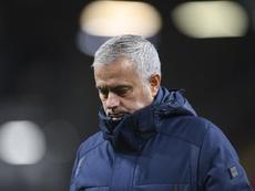 Lo Celso marcó... pero no fue suficiente para contentar a Mourinho. EFE