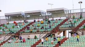 Habrá público en el Mérida-Melilla. EFE