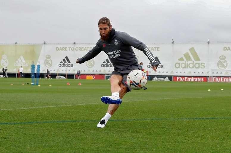 Ramos acelera sua recuperação. EFE/Realmadrid.com
