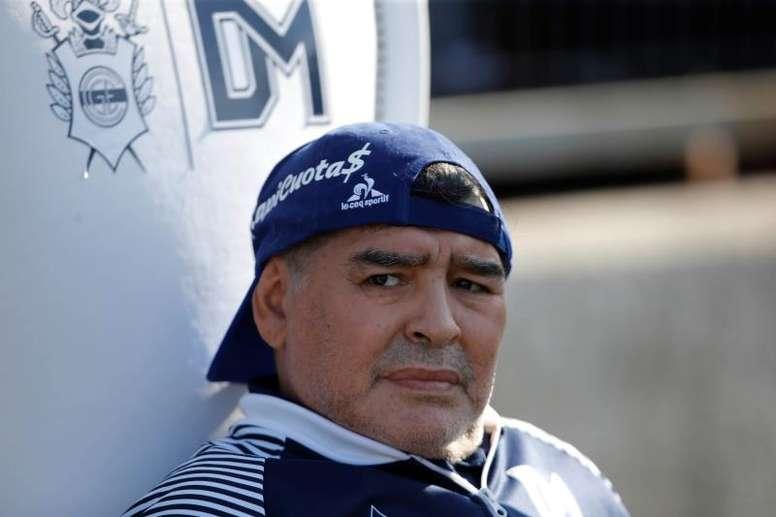 Carlos Fren era segundo entrenador de Maradona. EFE