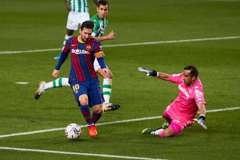 Toni Nadal spoke about Messi. EFE