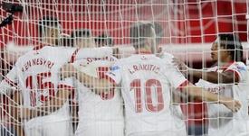 El Sevilla volvió a ganar en el Pizjuán. EFE