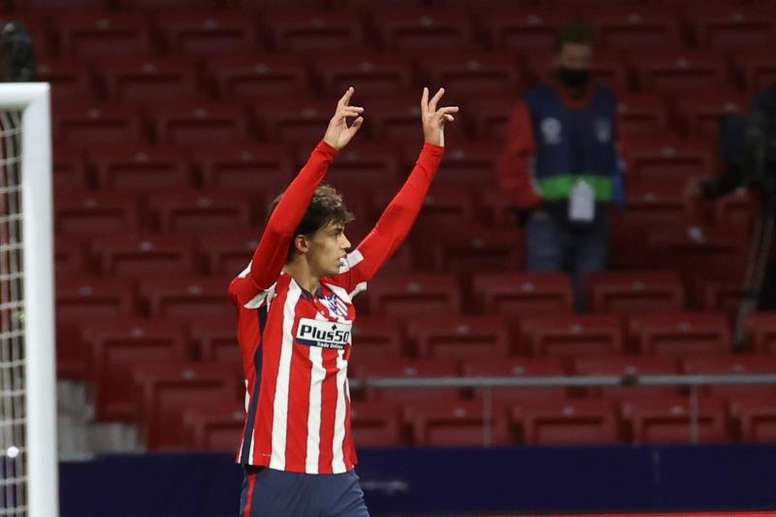 Joao Felix is in good form for Atletico. EFE
