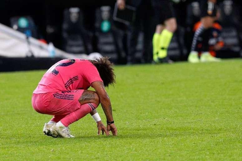 Marcelo ha estado en todas y cada una de las derrotas blancas de esta temporada