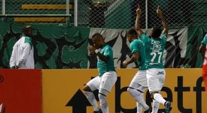 La Equidad consiguió el empate en el minuto 89. EFE