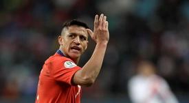 L'Inter s'agace contre la sélection du Chili. afp
