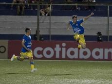 Pablo Gállego, goleador en Managua. EFE