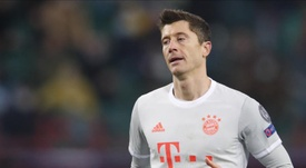 Robert Lewandowski has a contract until 2023. EFE