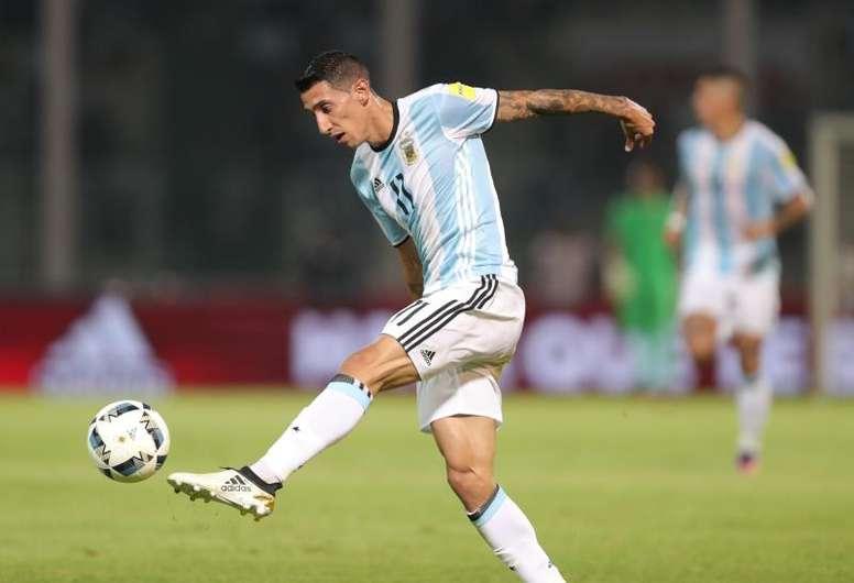 Les argentins du PSG rendent hommage à Diego Maradona. afp