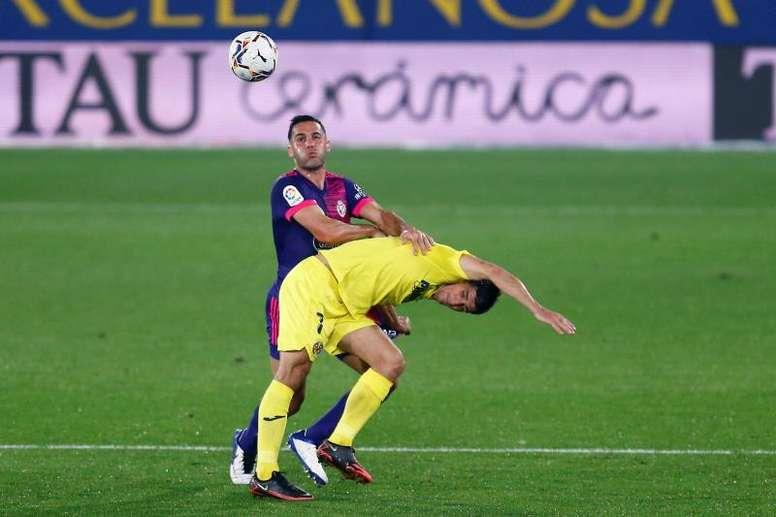 Bruno vio la quinta amarilla ante el Valencia y será baja ante el Elche. EFE/Archivo