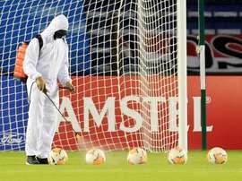 El fútbol femenino es de los que más está sufriendo la crisis. EFE/Archivo
