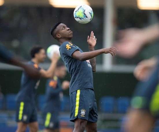 Vinicius has still not played for Brazil during the international break. EFE