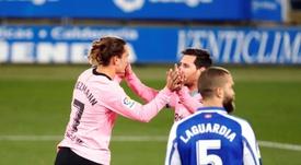 Valdano explicó que a Griezmann le importa su relación con Messi. EFE