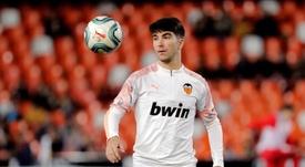 Valencia's Carlos Soler. EFE