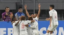 La remontada en un minuto la firma Deportivo Cuenca. EFE