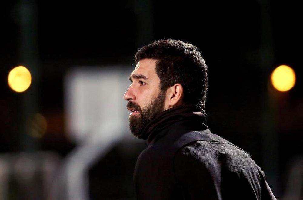 Arda Turan will renew at Galatasaray. EFE/Archivo