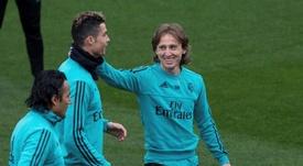 Cristiano y Modric vivieron una inolvidable etapa en el Real Madrid. EFE