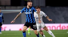 Brozovic fue baja de última hora en el Inter. EFE