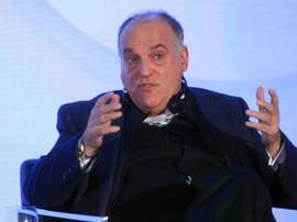 Javier Tebas is president of LaLiga. EFE