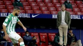 El Betis quiere reforzar su defensa. EFE/Ballesteros
