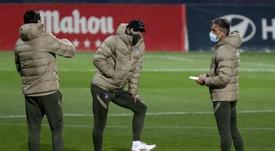 Simeone apuesta por Joao Félix y Correa en punta. EFE/Zipi