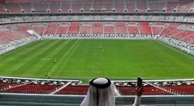 El Mundial se celebrará en Catar en 2022. EFE/EPA