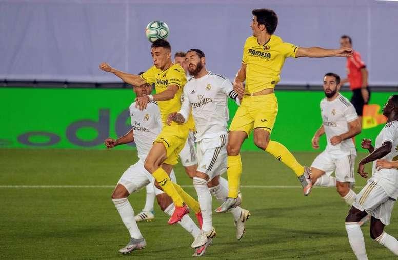 Possible line-ups for Villarreal v Madrid. EFE