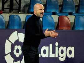 Paco López's job is at risk. EFE