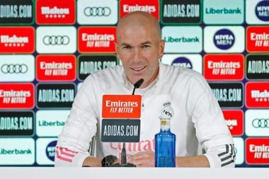 Zidane ha analizzato la sfida in conferenza. EFE