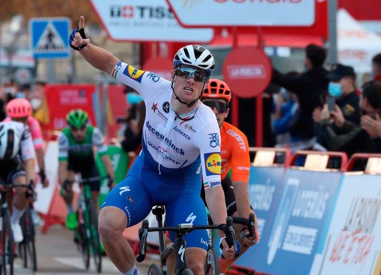 El ciclista irlandés del Deceuninck Quick Step Sam Bennett. EFE/Kiko Huesca/Archivo