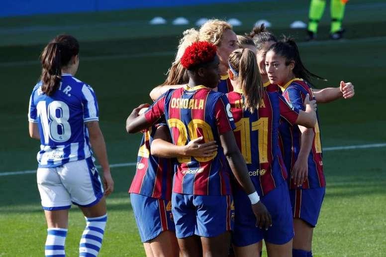 Así fue el sábado de la jornada 9 de la Liga Iberdrola. EFE