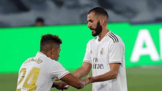 Le formazioni ufficiali di Alcoyano-Real Madrid. EFE