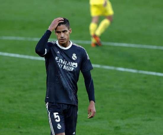Raphael Varane está na mira do Manchester United. EFE/Domenech Castelló