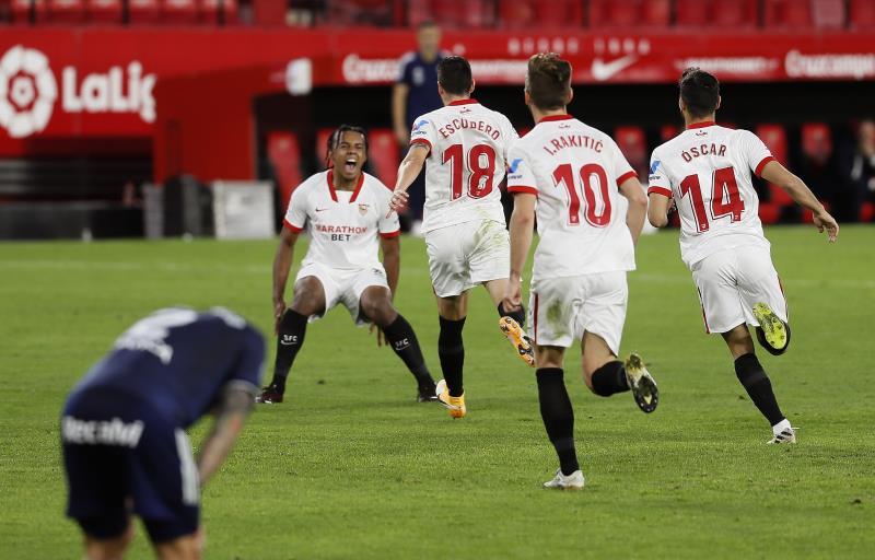 El Sevilla venció al Celta por 4-2