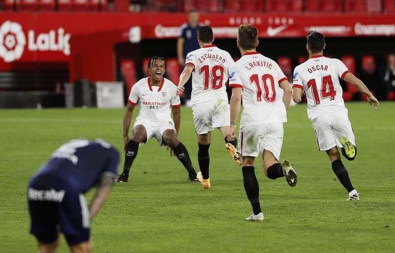 El club andaluz apeó de Copa al Leganés en 2018. EFE