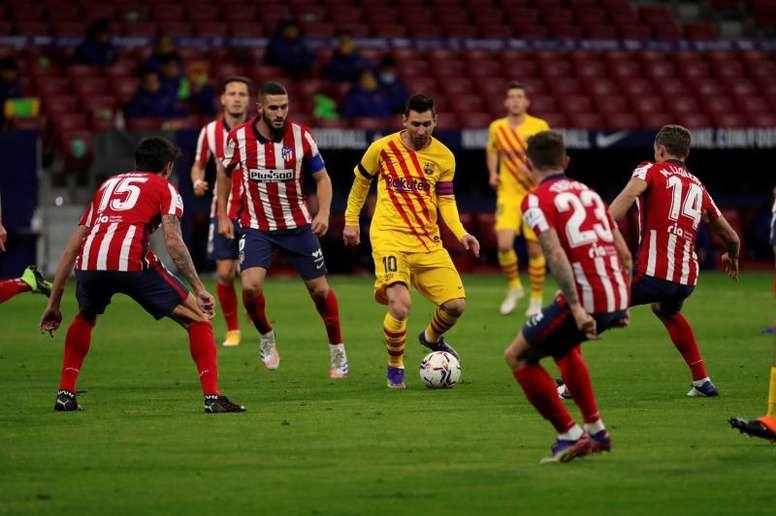 L'Atletico supera il Barcellona. EFE