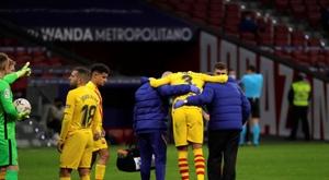 'SER Catalunya': Piqué decide no operarse. EFE