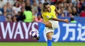 Marta Vieira dio positivo. EFE