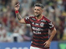 Flamengo golea a Coritiba; Goiás tumba a Palmeiras. EFE