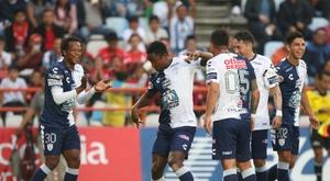 Pachuca jugará los cuartos de final del Apertura. EFE