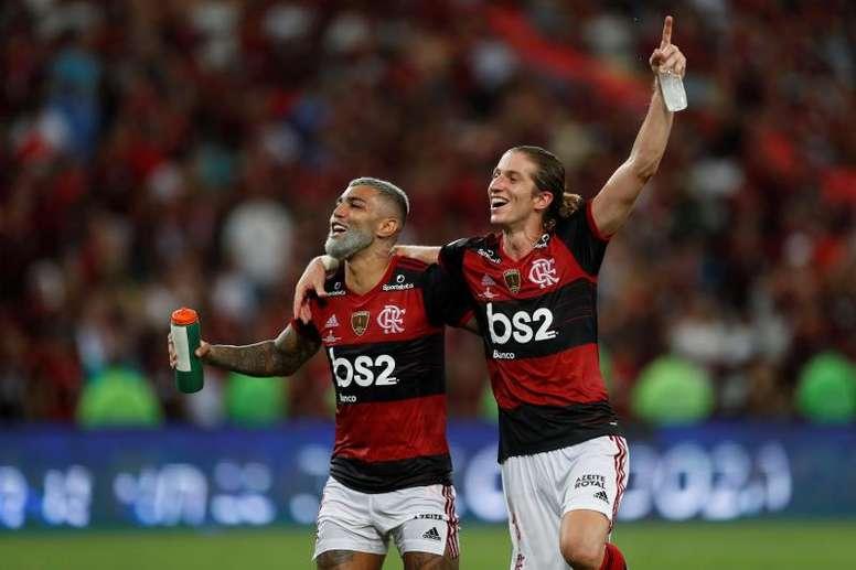 Renato Abreu, Gabigol e mais: os maiores artilheiros do Flamengo neste século. AFP