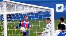 Eibar y Getafe firmaron el empate en Ipurua. EFE